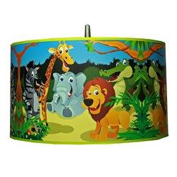 Abażur Safari zwierzęta