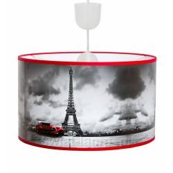 "Lampa abażurowa ""Paris Art Foto-2 mały samochód"""