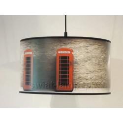 "Lampa abażurowa ""Londyn telephone Art"""