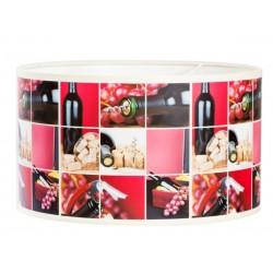 "Lampa abażurowa ""Wino miniatury"""