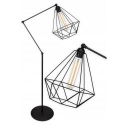 Lampa stojaca druciana w stylu loft