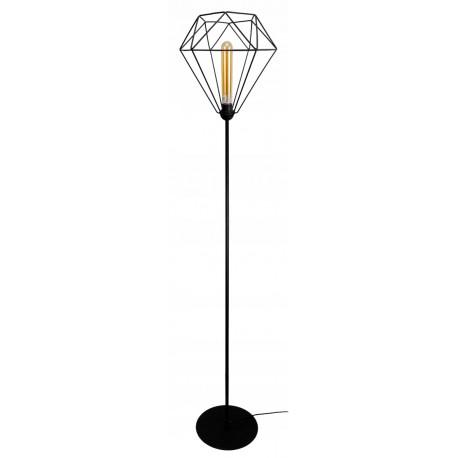 Lampa stojąca diament loft 1 płomienna