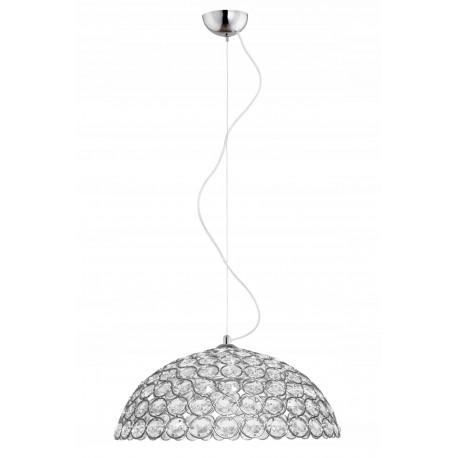 Lampa Sufitowa Żyrandol Kryształy Diamenty -1