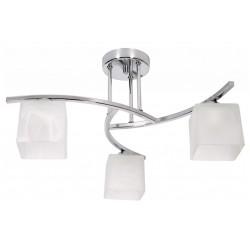 Lampa 3-płomienna z serii IRYS CHROM