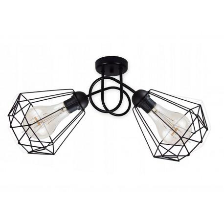 KOSZ 2 LAMPA ŻYRANDOL DIAMENT SKRĘT G-KOSZ-SKRENT-2