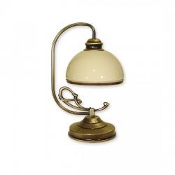 Delta lampka stołowa 1 patyna - Lemir