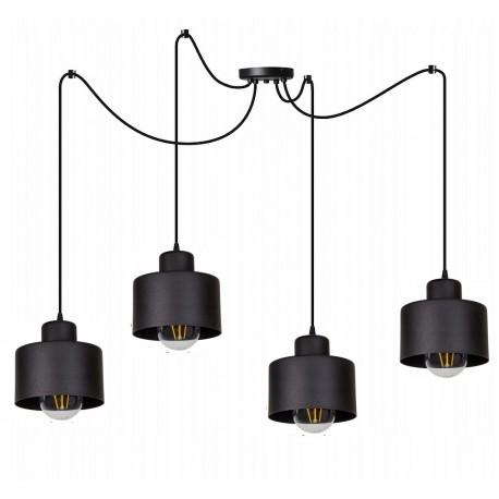 Lampka-RETRO-PAJĄK-4-PLUS-loft-led-industrialny-styl