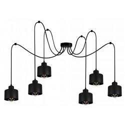 Lampka-RETRO-PAJĄK-6-PLUS-loft-led-industrialny-styl