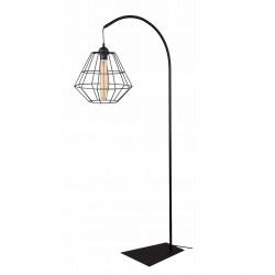 Kosz Lampa stojąca druciana w stylu loft 2 kolory