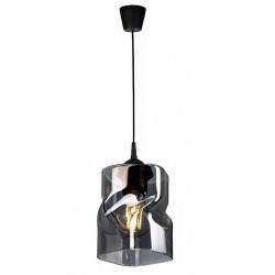 LAMPA KONTI-MEGAN-1 linka WISZĄCA SUFITOWA NOWOCZESNA 3 KOLORY konstrukcji i 3 kolory klosza