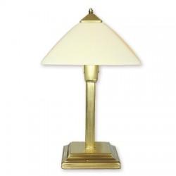 Lemir Krzyżak lampka stołowa duża 1 Patyna