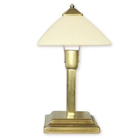 Lemir Krzyżak lampka stołowa mała 1 patyna