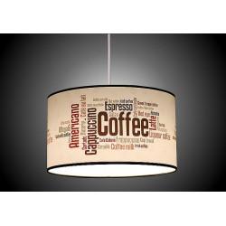 Abażur coffee