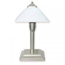 Lemir Krzyżak lampka stołowa mała 1 Satyna